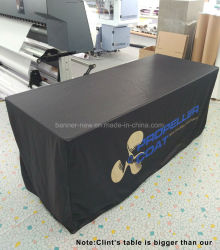 Washable Durable Full Color Advertisement 3D Table Cover