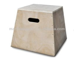 Sports Goods Exercise Equipment Plyo Jump Boxer Jump Box