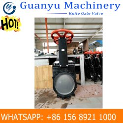 Heavy Duty Mining Slurry Knife Gate Valve with Pneumatic Actuator