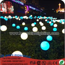wholesale romantic wedding led colorful rose flower garland outdoor decoration lights