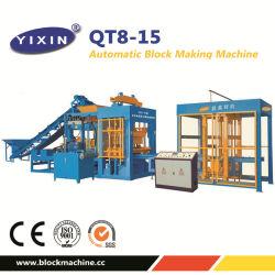 Qt8-15 Large Scale Production Solid Triangular Paver Brick Machine