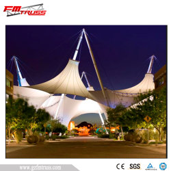 Cost Saving Steel Membrane Structure for Outdoor Celebrations