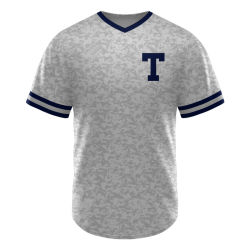 01d20e57 2018 Custom Button Baseball Jersey Sublimation Printed Wholesale Cheap  Sports Baseball Jersey