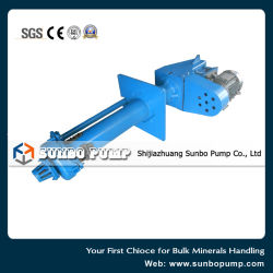 High Performance High Chrome Alloy Wear Resistant Vertical Slurry Pump