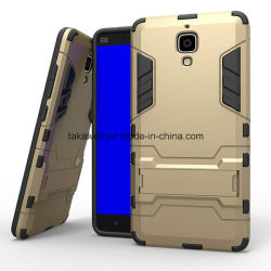 China Wholesale Mobile Phone Accessory OEM Iron Man Armor Case for Xiaomi Redmi Note 3 Edge Cell Phone Cover Case