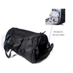 Fashion Men Women Light Big Capacity Waterproof Outdoor Crossbody Nylon Camping Hiking Clumbing Outing School Sports Gym Fitness Duffel Luggage Travel Bag