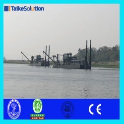 Sand Mining Cutter Suction Dredger with Spare Parts for Sale