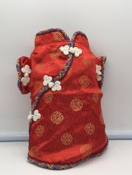 Pet Clothes for Small Dog Cat Ancient Chinese Imperial Costume Silk