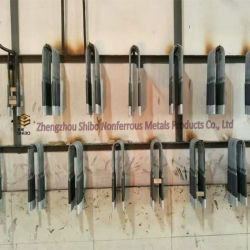 Molybdenum Disilicide Calefaction Stick, U-Shape Si-Mo Heater Bar