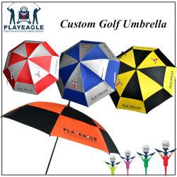 b0e0c19cf4ae5 Double Layer Outdoor Sports Golf Umbrella Customized Logo Auto Open Umbrella