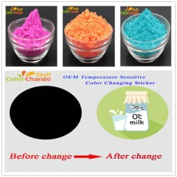 Thermochromism Slurry for Sticker