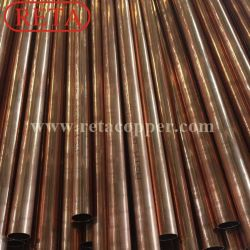 Factory of Type K, Type L, Type M Straight Copper Pipe