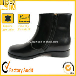 Side Zipper Female Army Office Boots