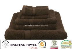 100% Cotton Hotel Towel Set with Satinborder