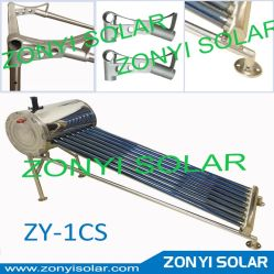 Zy-1CS New Stainless Stand Solar Water Heater