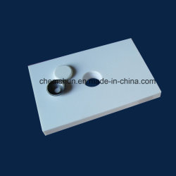 Abrasion Resistant Alumina Ceramics Weld-on Tile with Steel Casing