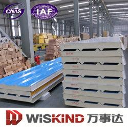 Low Price Insulated Polyurethane /PU Rock Wool EPS Sandwich Panel