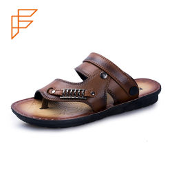 cb46e1d3a4fc China Korean Men New Design Fashion Flat Summer Sandals 2017