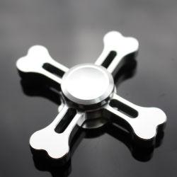 Skull Anself Tri-Spinner Fidget Spinner Hand Finger Spinner