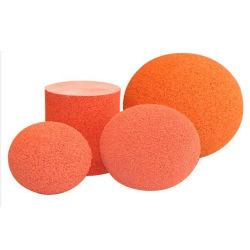 Natural Rubber Dn150 (6 inch) Concrete Pump Sponge Rubber Ball