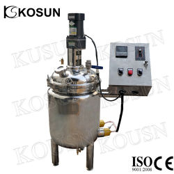 1000L Jacketed Heated Heating Stainless Steel Paint Mixer Mixing Tank Price with Agitator Manufacturer