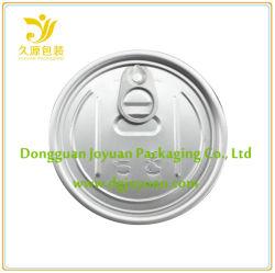 Aluminum Easy Open Tin Cover Eoe 307# Dia. 83.3mm