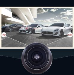 Waterproof Universal Car Rear View CMOS Vehicle Backup Reversing Camera (16.5mm)