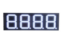 Outdoor Waterproof 7 Segment Digital LED Gasoline Price Sign/LED Oil Station Display