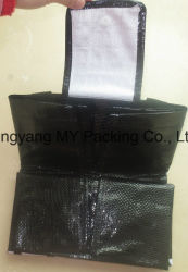 Heavy Packing Cmyk Printing Foldable PP Woven Promotion Bag