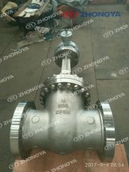"API600 Class 600lb 14"" Worm Gear Operated CF8m Gate Valve (Z41W-14-600LB)"