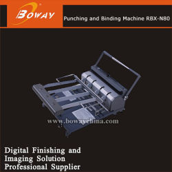 Boway Ad Office 34 Holes PVC OHP Film Book Wire Punching and Binding Machine Rbx-N80