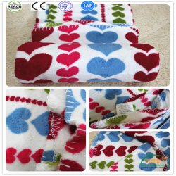 2018 New Sofa Soft Love Color Printed Spread Bed Throw Blankets