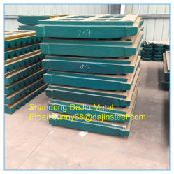 Manganese Casting Parts/Heavy Duty Jaw Plates-Wear and Spare Parts