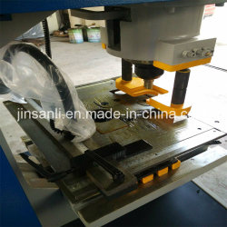 Angle, C-Chanel, H-Beam, I-Beam Processing Hydraulic Steelworker