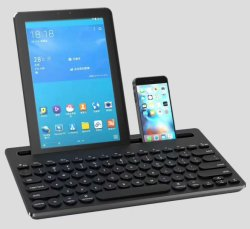 Mini Wireless Keyboard DOT Blue Tooth Mechanical Keyboard for All The Intelligent Phone