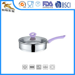 Stainless Steel Cookware Frypan Cooking Pan (CX-SFR14)