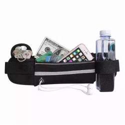 Waist Bag, Wholesale Waterproof Running Custom Logo Nylon Polyestser Reflective Running Bottle Holder Gym Sports Fanny Pack Purse Leisure Wallet Belt Bag