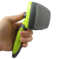 Self Cleaning Slicker Brush for Dogs and Cats - Pet Grooming Comb for Dematting Shedding Short and Long Hair Esg10344