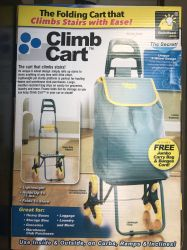 Stair Climbing Foldable Cart Handcart