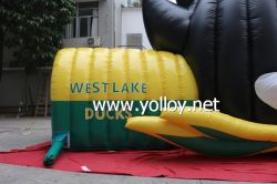 Inflatable Duck Helmet Sport Game