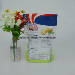 Stand up Plastic Packaging Bag for Snack, Food, Tea, Coffee