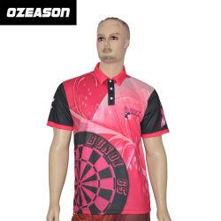 High Quality Custom Cotton Fashion Women Men Sports Breast Cancer Pink Polo Shirt