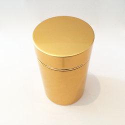 Wholesale Large Shiny Golden Aluminum Caps for Mason Bottles
