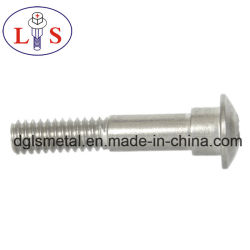 Cross Recess Step Bolt Countersunk Head Bolt with Nylok