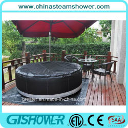 4 Person Round Portable Outdoor Inflatable SPA (pH050010)