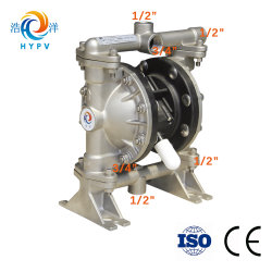 Hypv Portable Gas Transfer Pump Pneumatic Air Operated Diaphragm Pump