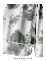 Cloud Tie-Dyed Cotton/Spandex Women's Knit Sports Clothing