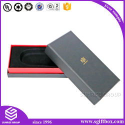 Paper Box Fast Delivery Fashion Elegant Leather Wrapped Cardboard Paper Gift Box Packing