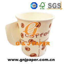4 24 Oz Disposable Single Wall Cold Drink Paper Cup With Without Lid