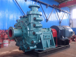 CAD Design Large Capacity High Head 200zjg (P) Slurry Pumps